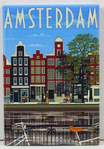 Kühlschrankmagnet,Magnetschild,Magnet-Amsterdam II