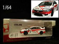 1/64 Inno Honda Civic MUGEN FD2 TypeR mini diecast CTR ONE MAKE JDM import tuner