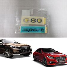 "OEM parts ""G80 Sport"" emblem Rear Trunk For Hyundai Genesis, G80 2015~2018+"