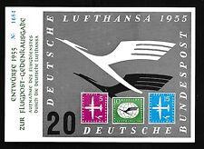 75789) Autocollant Label Sticker projets Lufthansa série 1955, numéroté