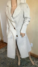 VIVIENNE WESTWOOD 100% Virgin Wool Fit and Flare Coat Size EU 40 US 4