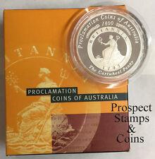 2000 Subscription - Proclamation Penny - Silver Proof Australian Dollar Coin