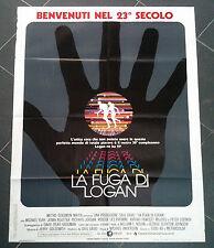 LA FUGA DI LOGAN poster manifesto Fantascienza Sci Fi Logan's Run 1976