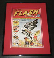 Flash Comics #2 Framed Cover Photo Poster 11x14 Official Repro