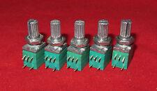 5 x 10K OHM Linear Taper Pot, with ON-OFF Turn Switch B10K Potentiometer Mini BJ