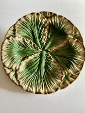 fitz and floyd Cabbage Lettuce 9� Serving Plate Wall Art Hors D'oeuvres Dish
