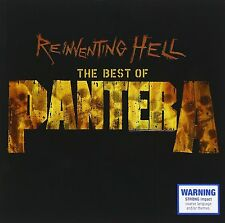 Pantera Reinventing Hell: The Best Of CD NEW SEALED 2003 Metal Planet Caravan+