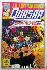 ALL AMERICAN COMICS 51 Comic Art 1993 QUASAR tempesta nella galassia