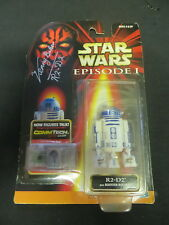 STAR WARS R2 D2 KENNY BAKER 3 3/4 FIGURE MIP SIGNED EPISODE 1 PHANTOM MENACE