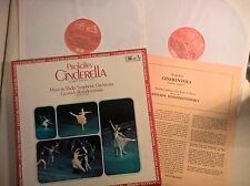BOX 2 LP - PROKOFIEV - CINDERELLA / CENERENTOLA - MELODIYA / LA VOCE DEL PADRONE