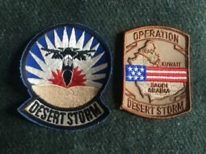 Nuovo Paio US Army E Air Force Operation (Desert Storm Giacca/Divisa Distintivi
