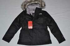 THE NORTH FACE KIDS GIRLS GREENLAND DOWN PARKA  XS 6  BLACK  BRAND AUTHENTIC