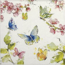 4x Paper Napkins for Party, Decoupage - Carola Pabst: Summertime