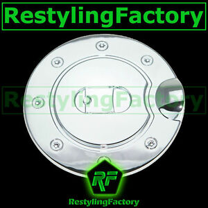 15-16 FORD F150 Triple Chrome Plated ABS Gas Fuel Door Cover 2015-2016 Bezel