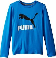 PUMA Boys' No 1 Long Sleeve Logo Tee (Ages 7-17)
