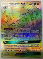 POKEMON - Metagross GX 157/145 - Holo Secret - Guardiani Nascenti - ITALIANO