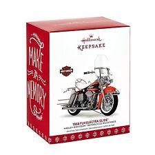 Harley Davidson 1968 FLH Electra Glide 2017 Hallmark Ornament Final  Motorcycle