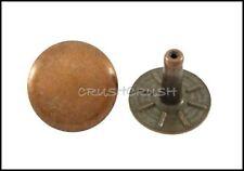 25pcs 13 mm Nickel Round Rivets Speedy Rivets Leather Craft Concho Rivets RV2113