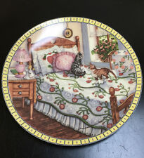Collector Knowles A Sunny Spot Cozy Country Corner Series 1991 Plate #6217 A