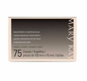 Mary Kay Beauty Blotters Oil Absorbing Tissues 75 Pack SHIPS SAME DAY