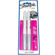 Sharpie Silver Permanent Marker Metallic Pens Bullet Fine Point Pen Paint Art UK