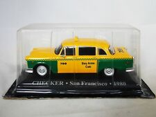 1/43 Checker Taxi San Francisco 1980 car model diecast IXO new unopened