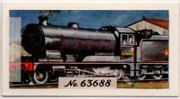 Robinson 2-8-0- Freight Locomotive Train Engine Vintage Trade Ad Card