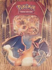 Pokemon CHARIZARD EX TIN from  2014 Power Trio set-(Out-of-print packs)FREE SHIP