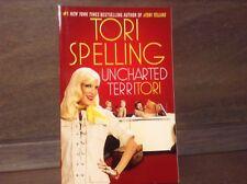 Tori Spelling, Uncharted Territori Paperback Book