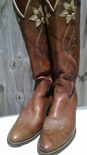 Women's Acme Size 9 A Brown Riding Boots