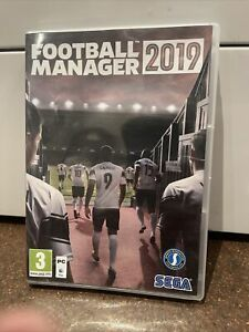 Football Manager 2019 PC DVD Computer Video Game UK Release & Steam Add On
