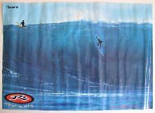 Vintage 1993 Poster Rusty Surfboards International Surfing Evan Slater Surfer