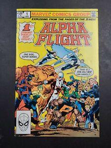 Alpha Flight #1 John Byrne Autographed Comic Signed High Grade NO RESERVE