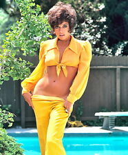 1971 FRAN JEFFRIES color glamour period photo (Celebrities & Musicians)
