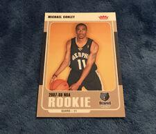 2007-08 Fleer #206 Mike Conley MT+ Memphis Grizzlies Rookie Card