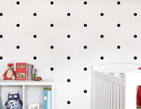 Polka Dot Wall Stickers Circle Children/'s Bedroom Decal Nursery Wall Art Sticker