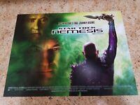 Star Trek Nemesis movie poster  : 12 x 16 inches : Patrick Stewart, Brent Spiner