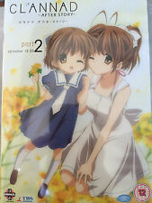 clannad AFTER Story Parte 2 ~ Japonés ANIMACIÓN MANGA/ANIME GB DVD