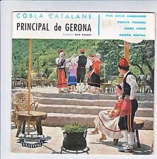 """PRINCIPAL DE GERONA Sardanes COPLA CATALANE Disque 45T 7"""" EP FESTA ANYAL RARE"""