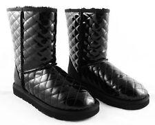 Stiefel und Stiefeletten mit Lack/Glanz Muster für Damen