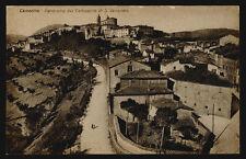 cartolina CAMERINO panorama dal campanile di s.venanzio
