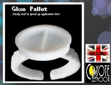 Disposable Glue Holder Rings LARGE DIVIDED x 10 tattoo Eyelash Extensions