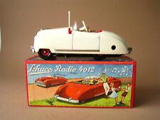Schuco Radio Auto # 4012 Blechspielzeug Uhrwerk us zone Germany 1950 im OKT