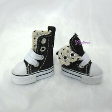 """Mimi Collection 12"""" Neo Blythe Pullip Doll Denim MICRO Shoes Folded Boots Black"""