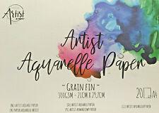 Aquarell Block 20 Blatt 300g A4 Papier Malen