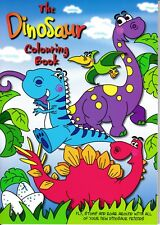 Children's Dinosaur Colouring Book. Kids Gift Stocking Filler (20845)