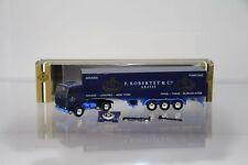 """Herpa Scania 142 """"P. Robertet """" Cie Parfums France"""" in goldener Verpackung H3274"""