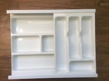 2-Tier Flatware Cutlery  Drawer Organizer Tray Insert