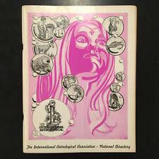 1976 International Astrological Association National Directory Astrology