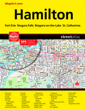 Hamilton Niagara Falls Street Atlas Map Book MapArt Publishing New! 1186